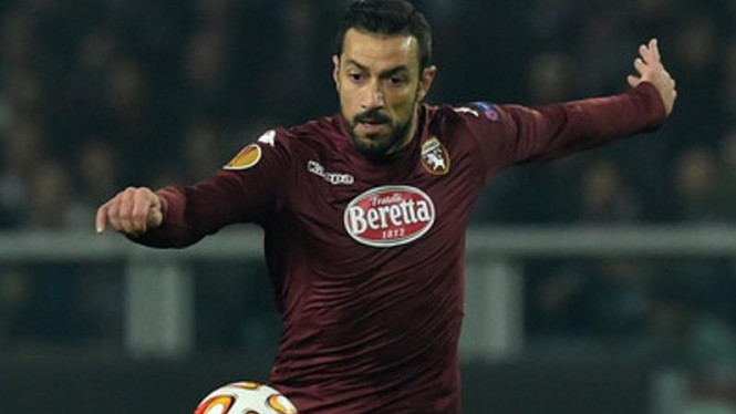 Penyerang Torino, Fabio Quagliarella