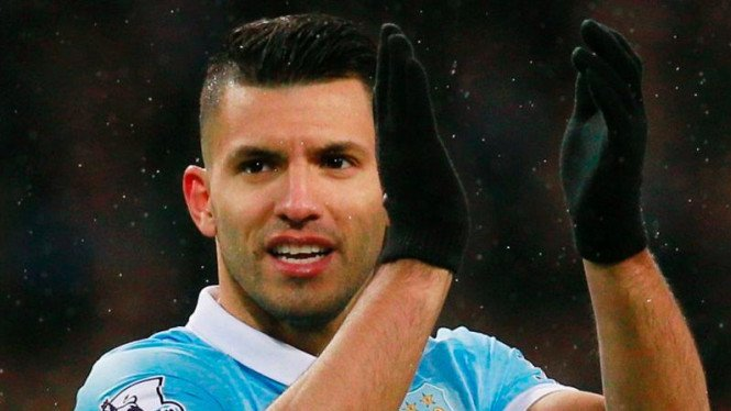 Pemain Manchester City, Sergio Aguero