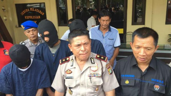 Kapolsek Tanjung Priok T.P. Simangungsong