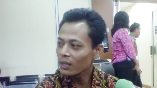 Produsen televisi lokal asal Karanganyar, Jawa Tengah Muhammad Kusrin