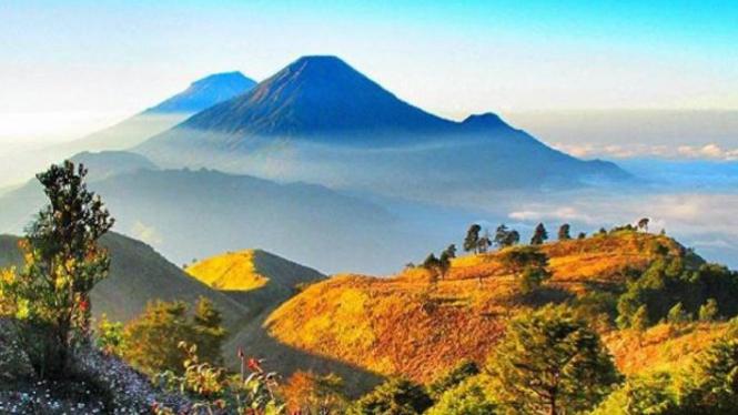Gunung Prau, Dieng.
