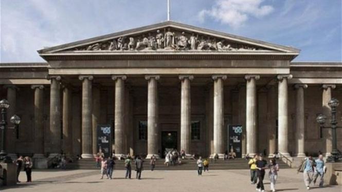Museum British di Inggris.