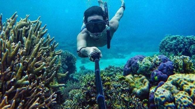 Keindahan bawah laut Kepulauan Togean.