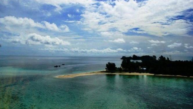 Pulau Samber Gelap, Kalimantan Selatan.