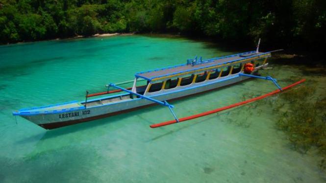 Kepulauan Togean di Sulawesi Tengah.