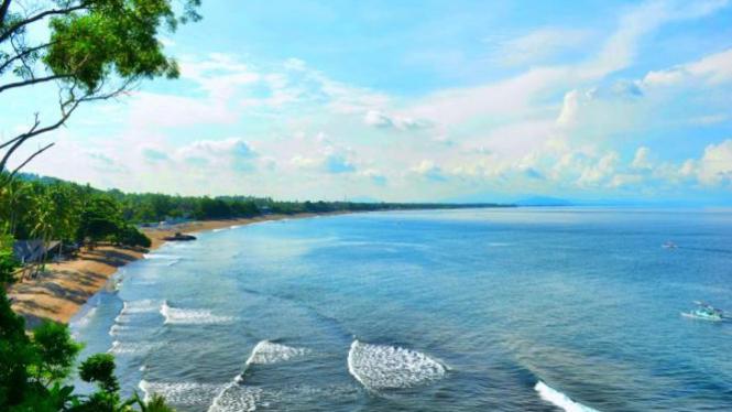 Pantai Senggigi, Lombok.