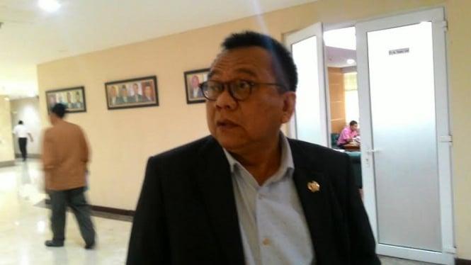 Wakil Ketua DPRD DKI, M Taufik.