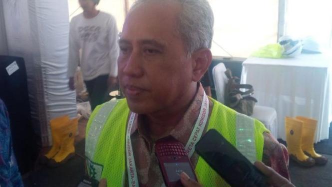 Direktur Utama Kereta Cepat, Hanggoro Budi Wiryawan.