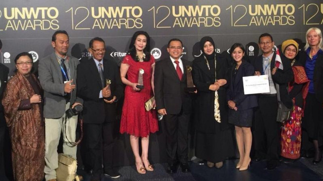Indonesia raih penghargaan dari UNWTO