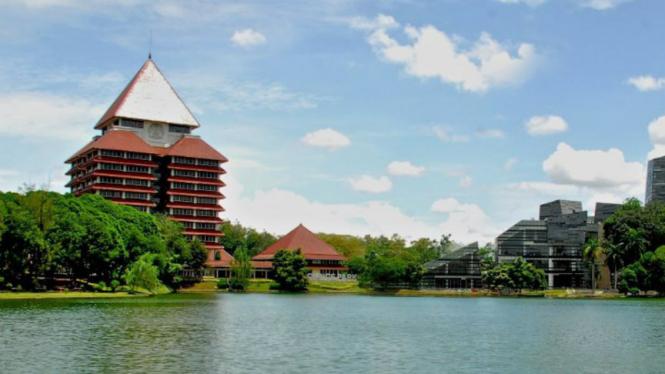 Kampus Universitas Indonesia/Ilustrasi.