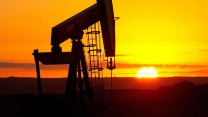 Ladang minyak/Ilustrasi.