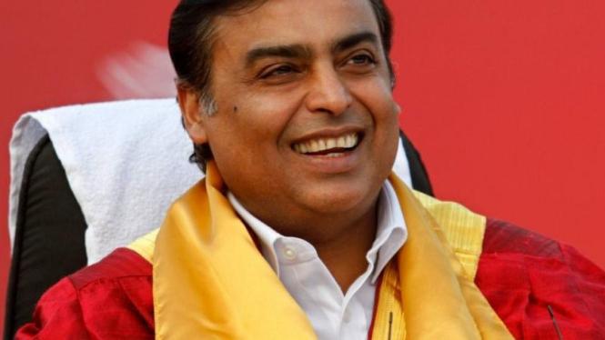 Mukesh Ambani, miliarder dari India