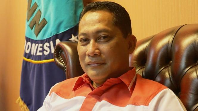 Kepala Badan Narkotika Nasional, Komjen Pol Budi Waseso.