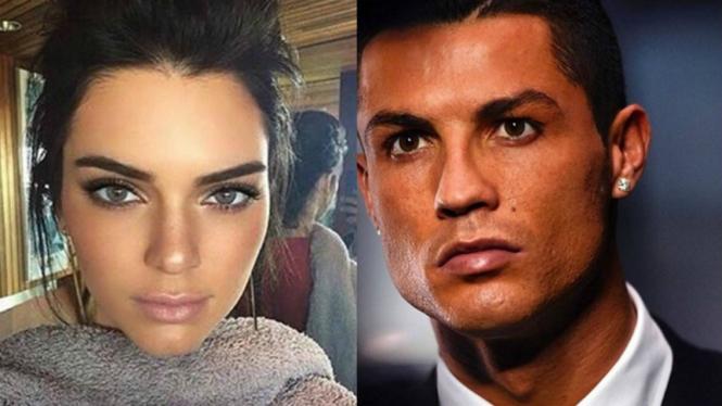 Kendall Jenner dan Cristiano Ronaldo