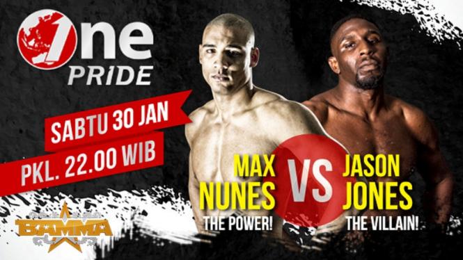 One Pride BAMMA: Max Nunes Vs Jason Jones