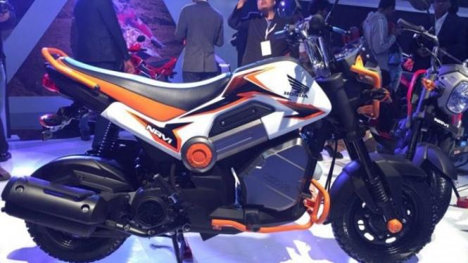 Honda Navi saat diluncurkan di India, Rabu (3/2/2016).
