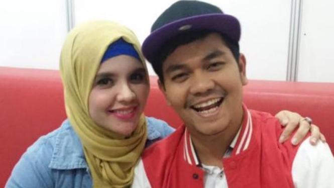 Indra Bekti dan Aldilla Jelita.