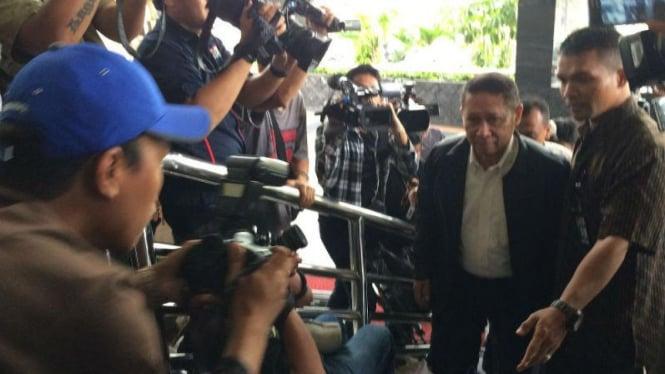 Mantan Direktur PT Pelindo II RJ Lino, memenuhi panggilan KPK
