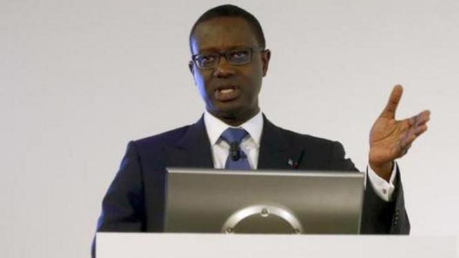 CEO Credit Suisse, Tidjane Thiam.