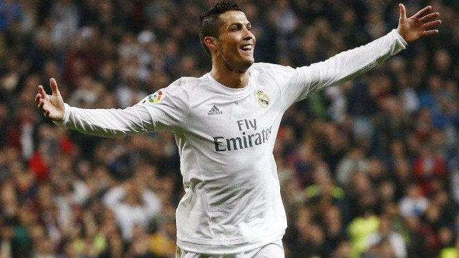 Pemain Real Madrid, Cristiano Ronaldo,