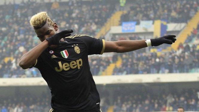 Pemain Juventus, Paul Pogba.