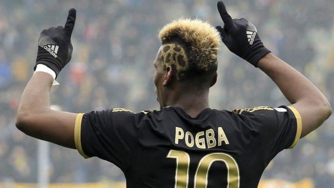 Gelandang Juventus, Paul Pogba