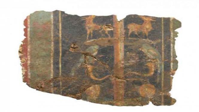 Lukisan Romawi berusia 2.000 tahun.