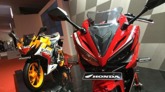 All New Honda CBR150R di Indonesia.