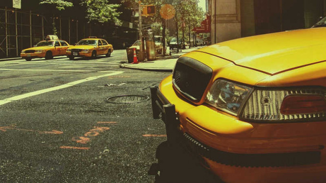 ilustrasi taksi.