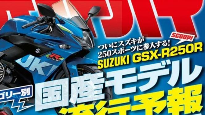 Suzuki GSX-R250R.