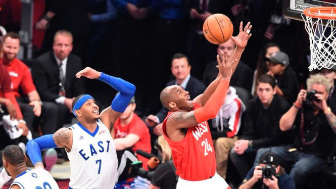 Kobe Bryant di All-Star 2016