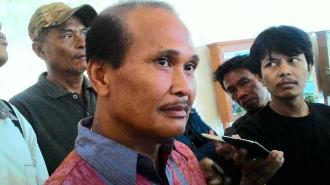 Tokoh masyarakat kawasan Kalijodo Daeng Azis.