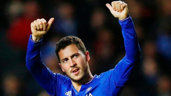 Pemain Chelsea, Eden Hazard.
