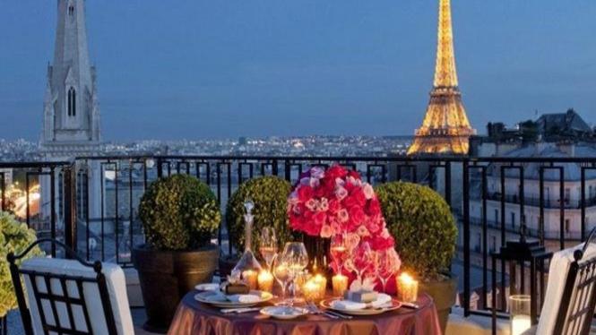 Tempat romantis.