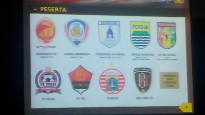 Daftar Peserta Piala Bhayangkara.