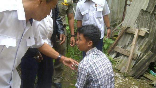 Bocah tersesat di Palembang Sumatera Selatan