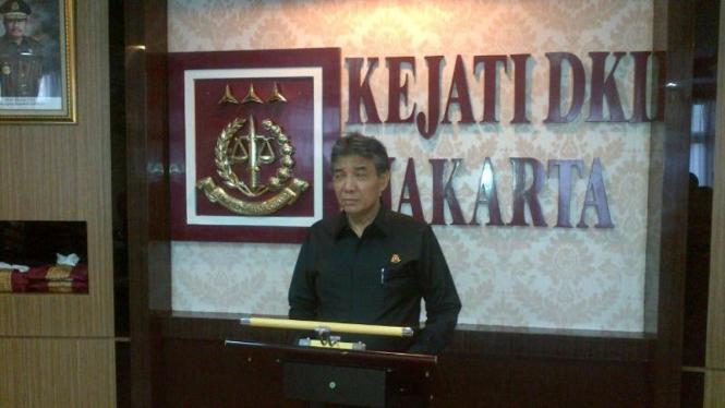 Kejaksaan Tinggi DKI tahan dua tersangka kasus korupsi Bank DKI