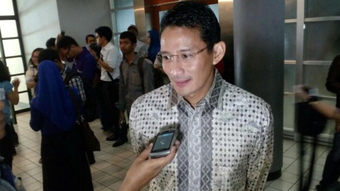 Bakal calon Gubernur DKI Jakarta, Sandiaga Salahuddin Uno