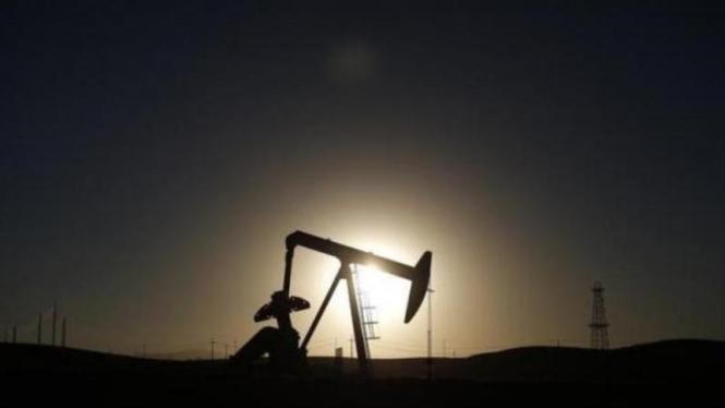 Ladang minyak di California.