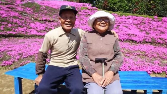 Pasangan Kuroki dari Jepang