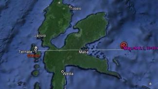 Ilustrasi Gempa Maluku Utara