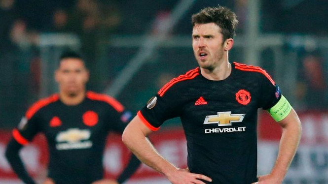 Gelandang Manchester United, Michael Carrick