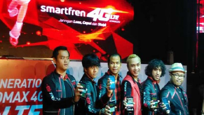 Smartfren meluncurkan smartphone baru
