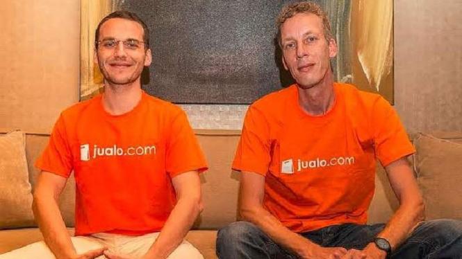 Salah satu pendiri Tokobagus.com, Remco Lupker (kanan)