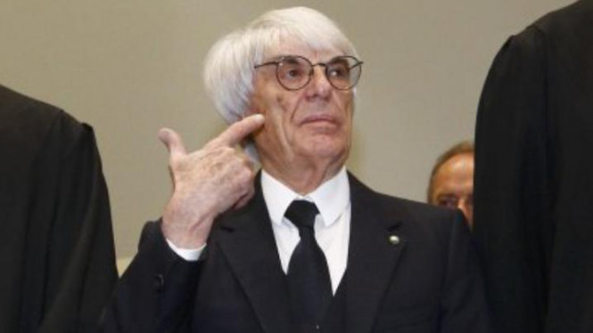 Mantan bos F1, Bernie Ecclestone