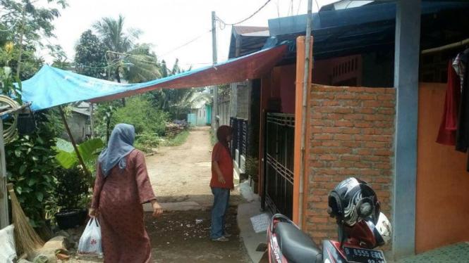 Suasana Kediaman ZF, Siswi SMP di Bogor yang melompat dari Gedung Sekolah