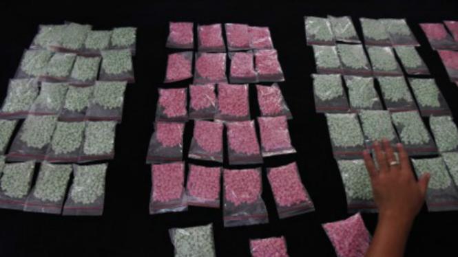 Ilustrasi/Barang bukti narkoba