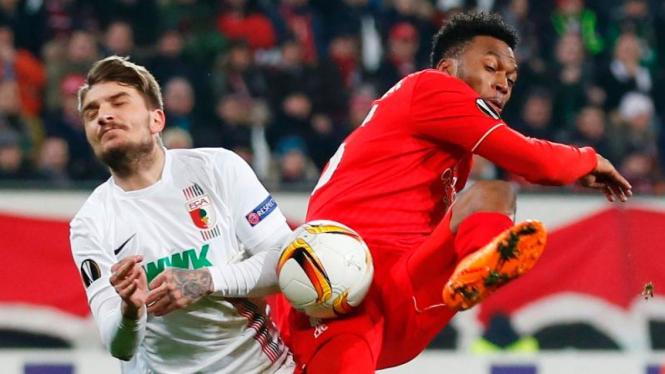 Laga Liverpool melawan Augsburg di Liga Europa