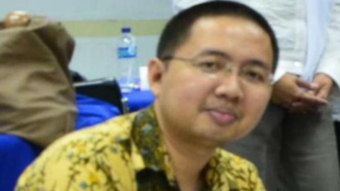 Almarhum Yoppy Novrianto, Branch Operational Manager Bank Mandiri Cabang Kota Baturaja di Sumatera Selatan, korban pembunuhan.