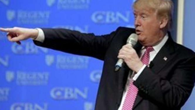 Calon Presiden AS, Donald Trump.